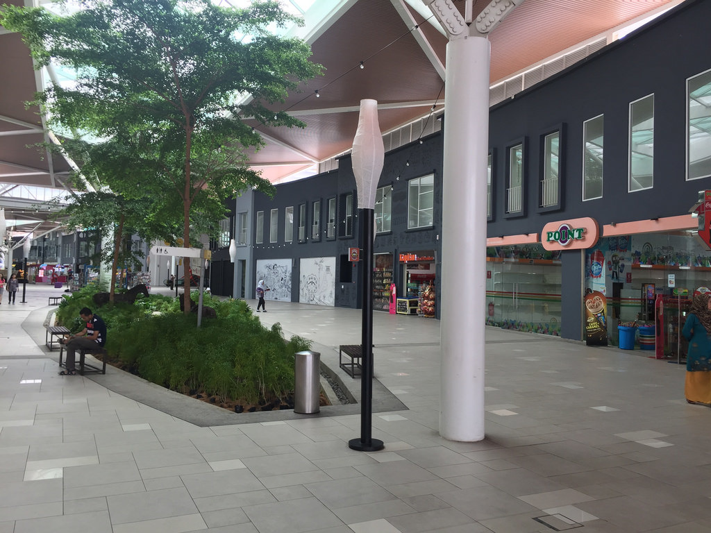 Shopping Centre across from LEGOLAND Malaysia