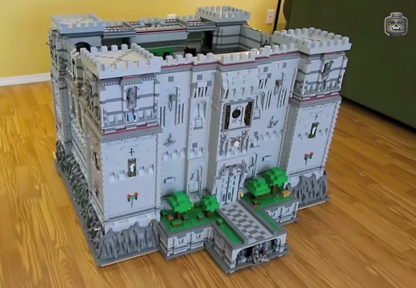 minecraft how to build a big castle