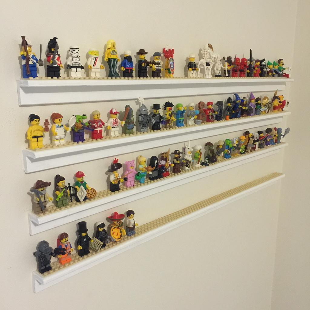 Building Minifigure Storage Shelves - BricktasticBlog - An ...