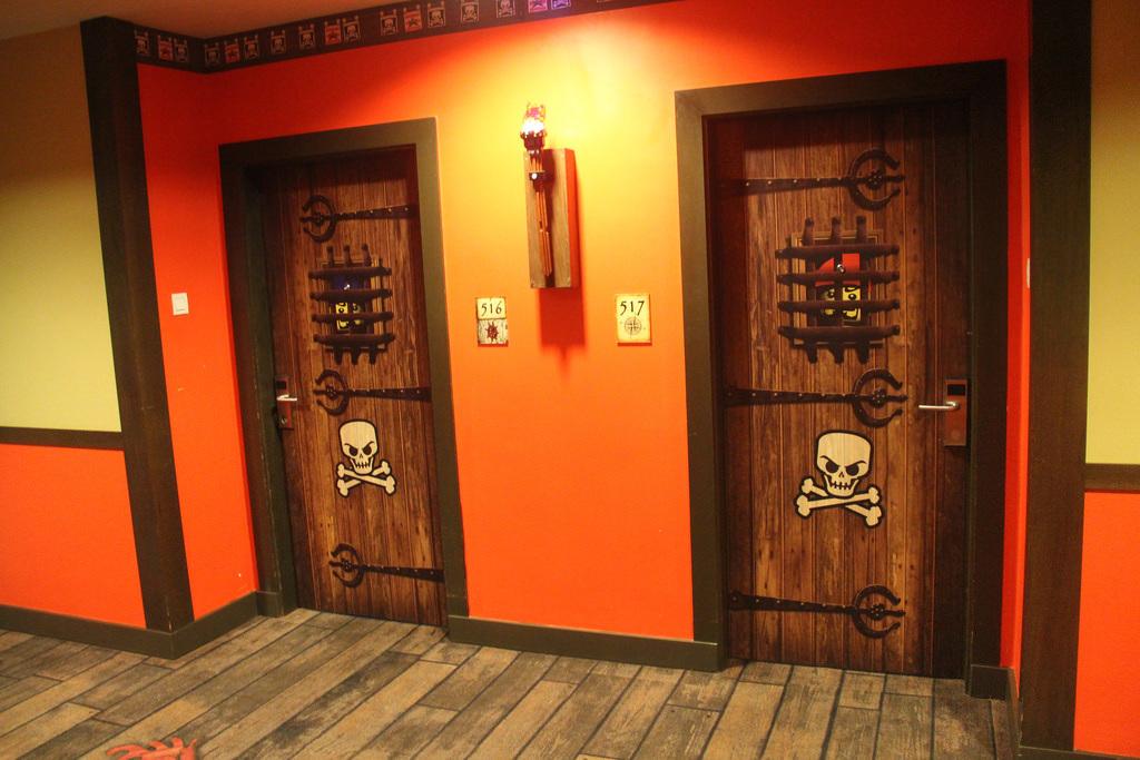 LEGOLAND Malaysia Hotel - Pirate Floor - Doors