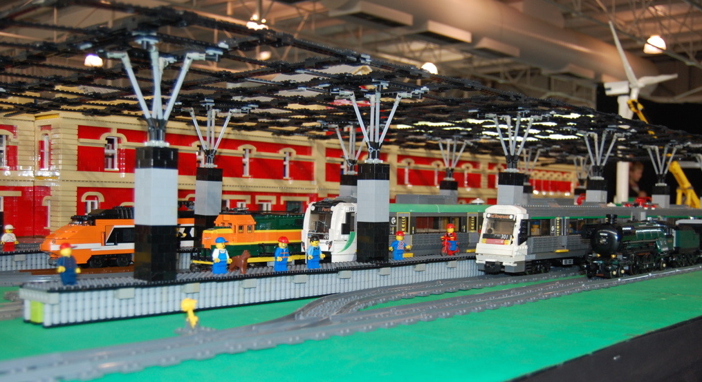 amazing trains check out the lego trains at the wa model railway exhibition in