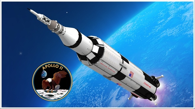 LEGO Ideas Apollo 11 Saturn-V