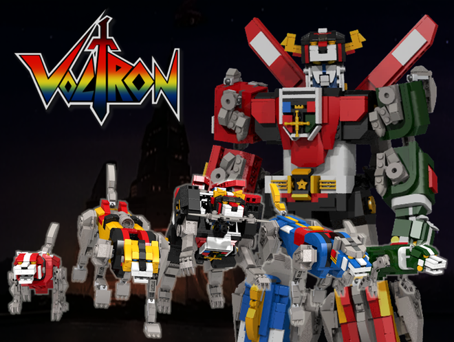 Voltron - Defender Of The Universe - LEGO Ideas