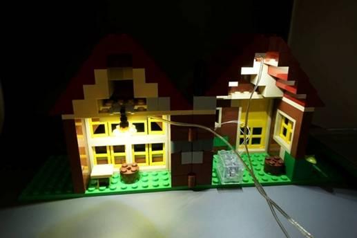LiteUp Blocks Interior setup