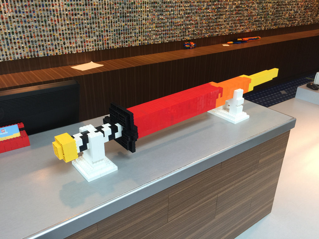 LEGO Sword - LEGOLAND Malaysia Hotel