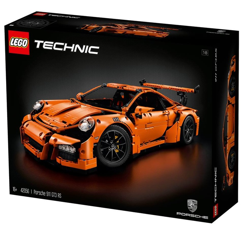 Official details for 42056: Porsche 911 GT3 RS - BricktasticBlog ...