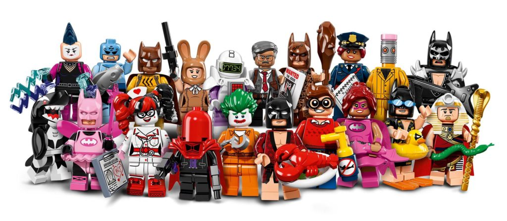 The LEGO Batman Movie CMFs