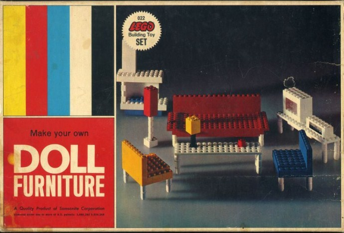 022-2 Doll Furniture