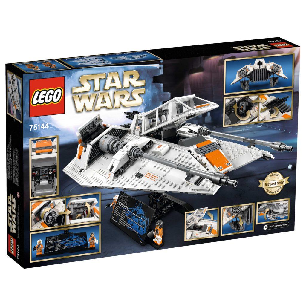 75144 UCS Snowspeeder Box Rear