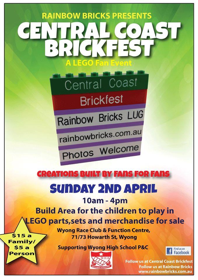 Central Coast Brickfest Poster
