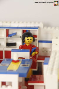 Homemaker House with LEGO Family
