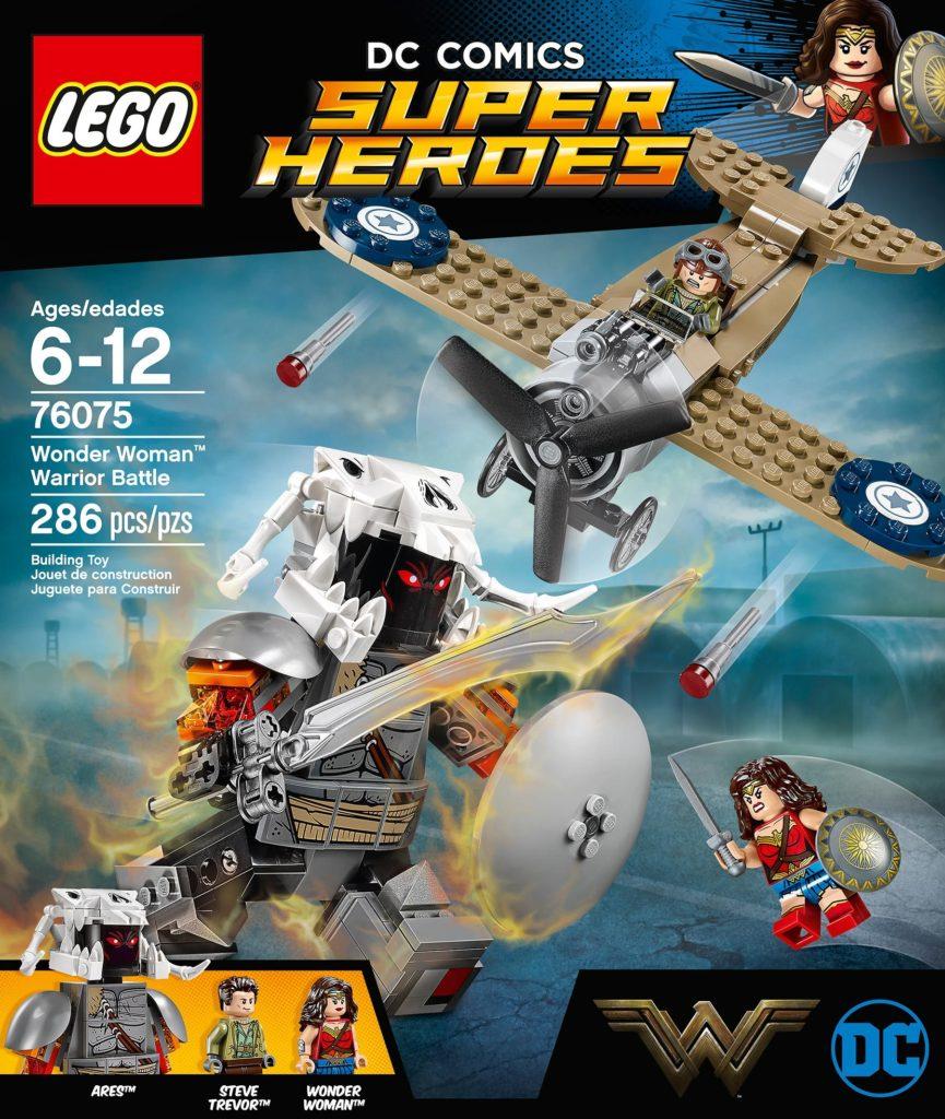 76075: Wonder Woman Warrior Battle Box Art