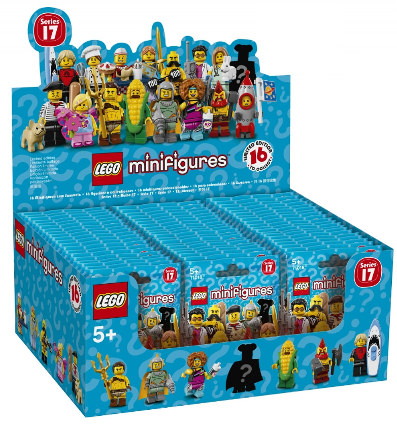 Collectable Minifigures Series 17 Box