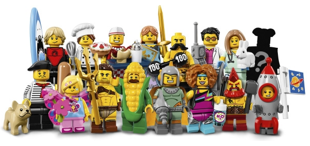 Collectable Minifigure Series 17 Group