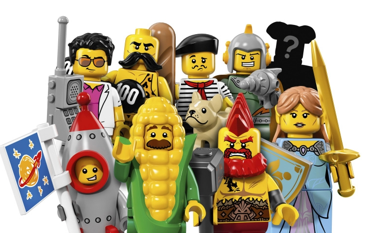 Collectable Minifigures Series 17