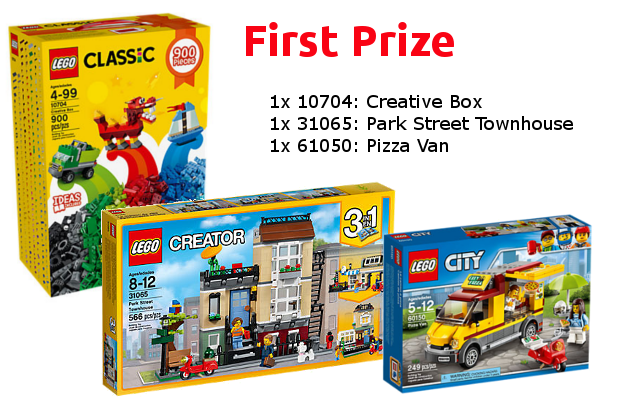 First Prize - LEGO Re-Theme Challenge