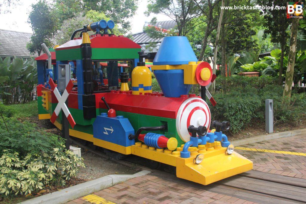 Actual LEGOLAND Train