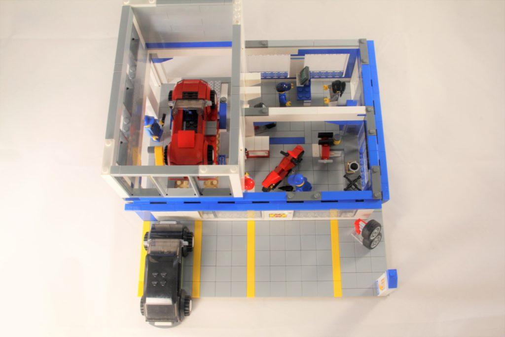 Modded 60097 Mechanic Interior