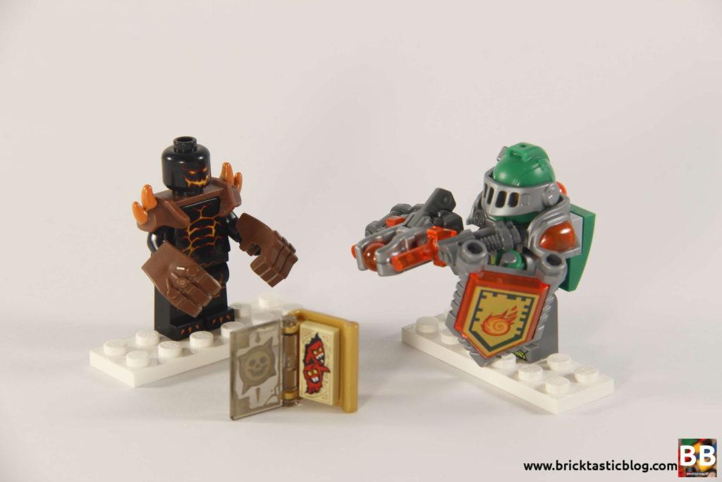 Moltors Lava Smasher Minifigures