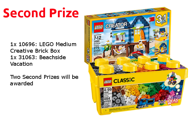 Second Prize - LEGO Re-Theme Challenge
