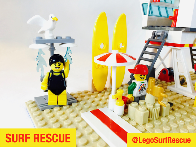 Surf Rescue Beach - LEGO Ideas