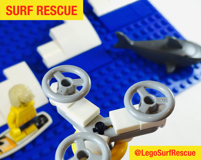 Surf Rescue Drone - LEGO Ideas