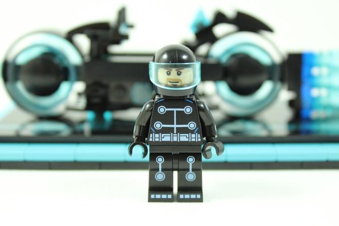 Tron Legacy Light Cycle Minifigure