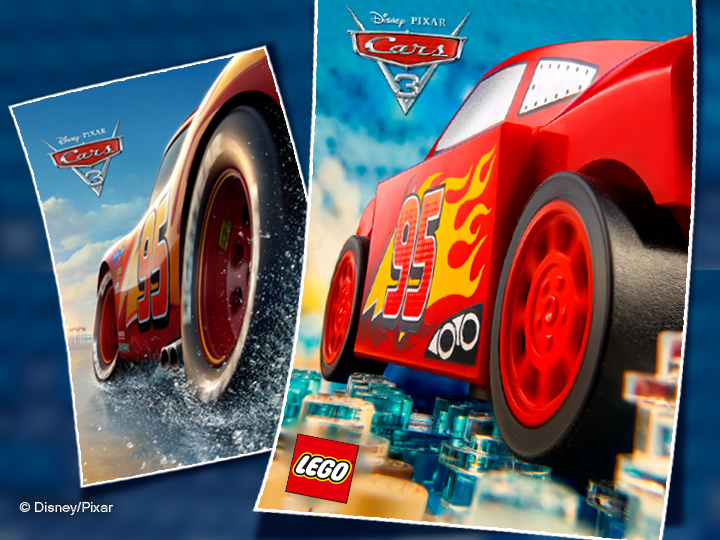 Create A Disney Pixar Cars 3 Movie Poster And Win Bricktasticblog An Australian Lego Blog