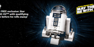 Star Wars Day R2D2 Promo