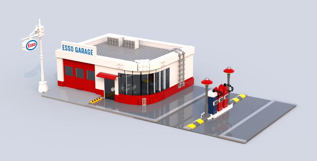Bailey Fullarton Esso Filling Station