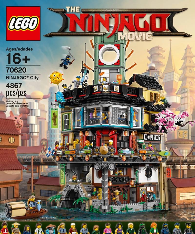 70620: Ninjago City