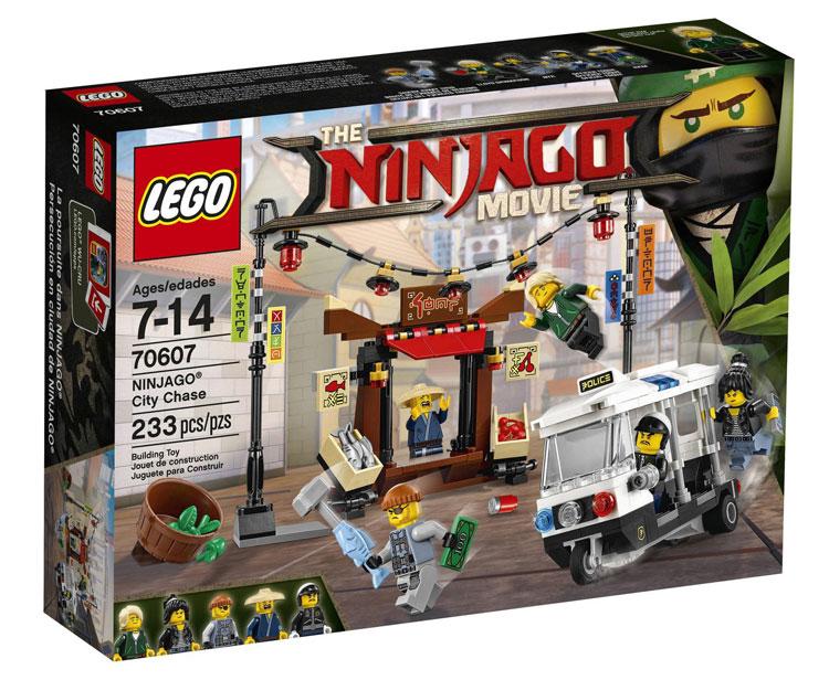 70607: Ninjago City Chase