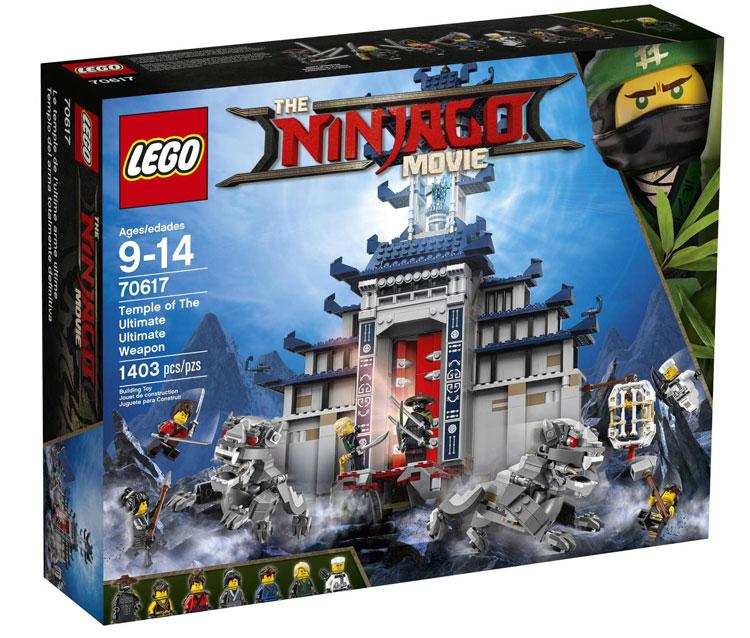 official box art for the lego ninjago movie sets bricktasticblog