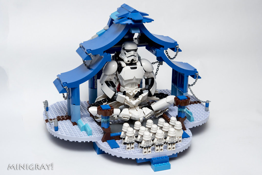 Blue Temple - MiniGray!