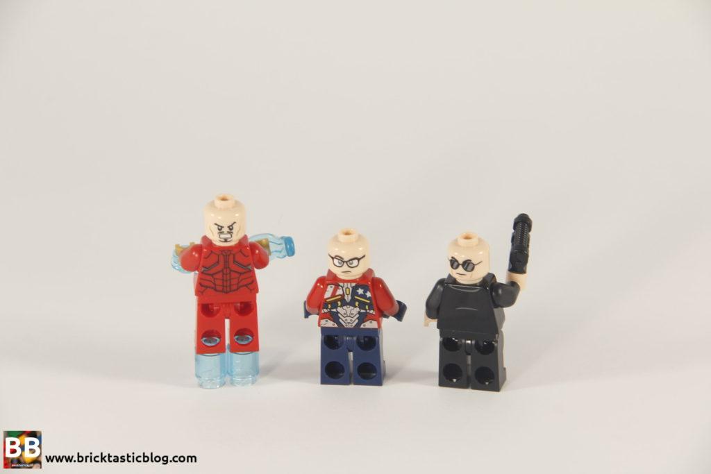 76077 Iron Man: Detroit Steel Strikes Minifigs