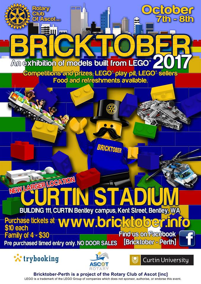 Bricktober Perth Poster 2017