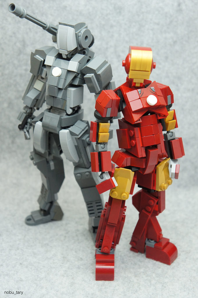 Iron Man & War Machine - nobu_tary