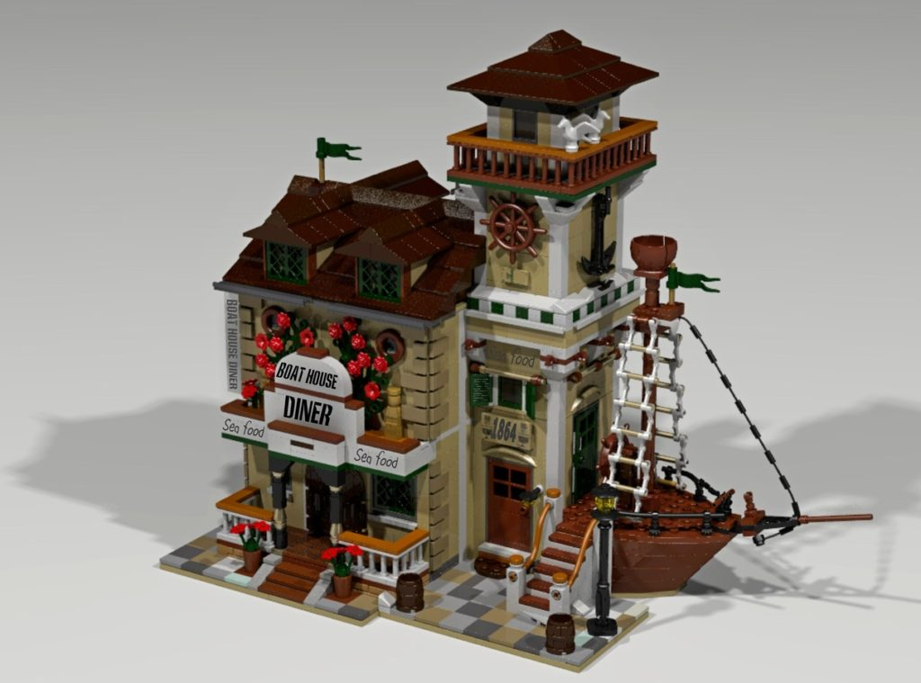 Boat House Diner - LEGO Ideas