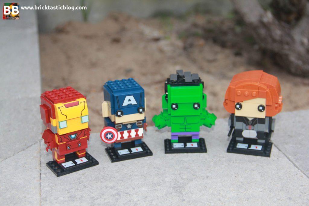 LEGO Marvel Brickheadz
