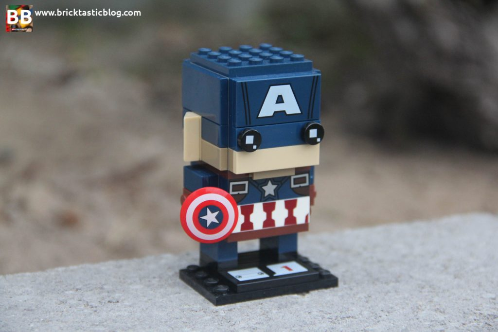 LEGO Marvel Brickheadz - Captain America