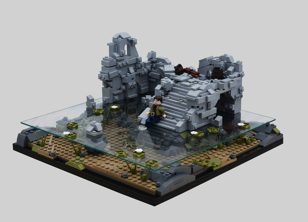 Submerged Ruins Bricktasticblog An Australian Lego Blog