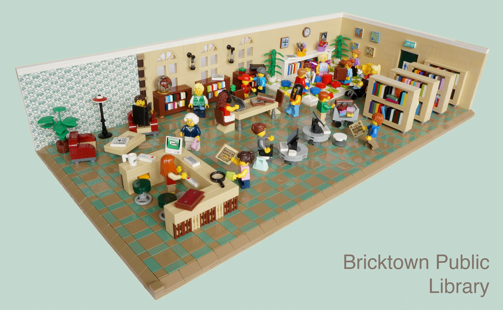 Bricktown Public Library - Brick Queen