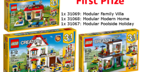 First Prize - LEGO Household Items Challenge