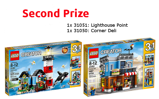 Second Prize - LEGO Household Items Challenge