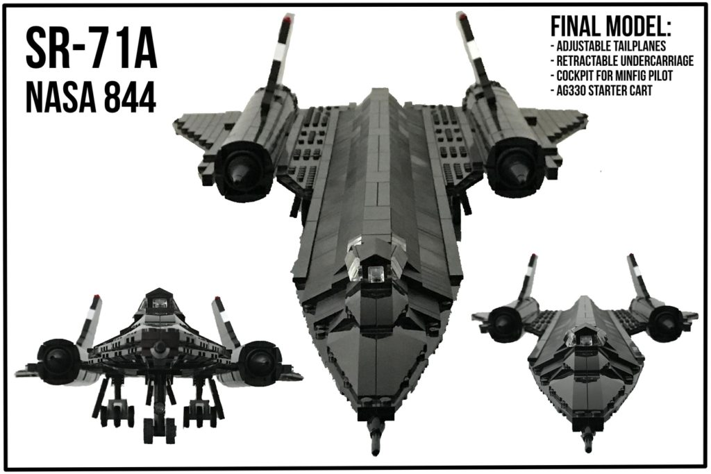 SR-71A The Final Flight - LEGO Ideas