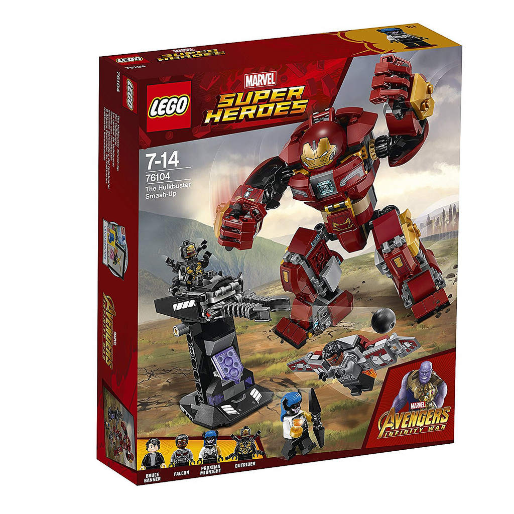 76104 Hulkbuster Smash Up