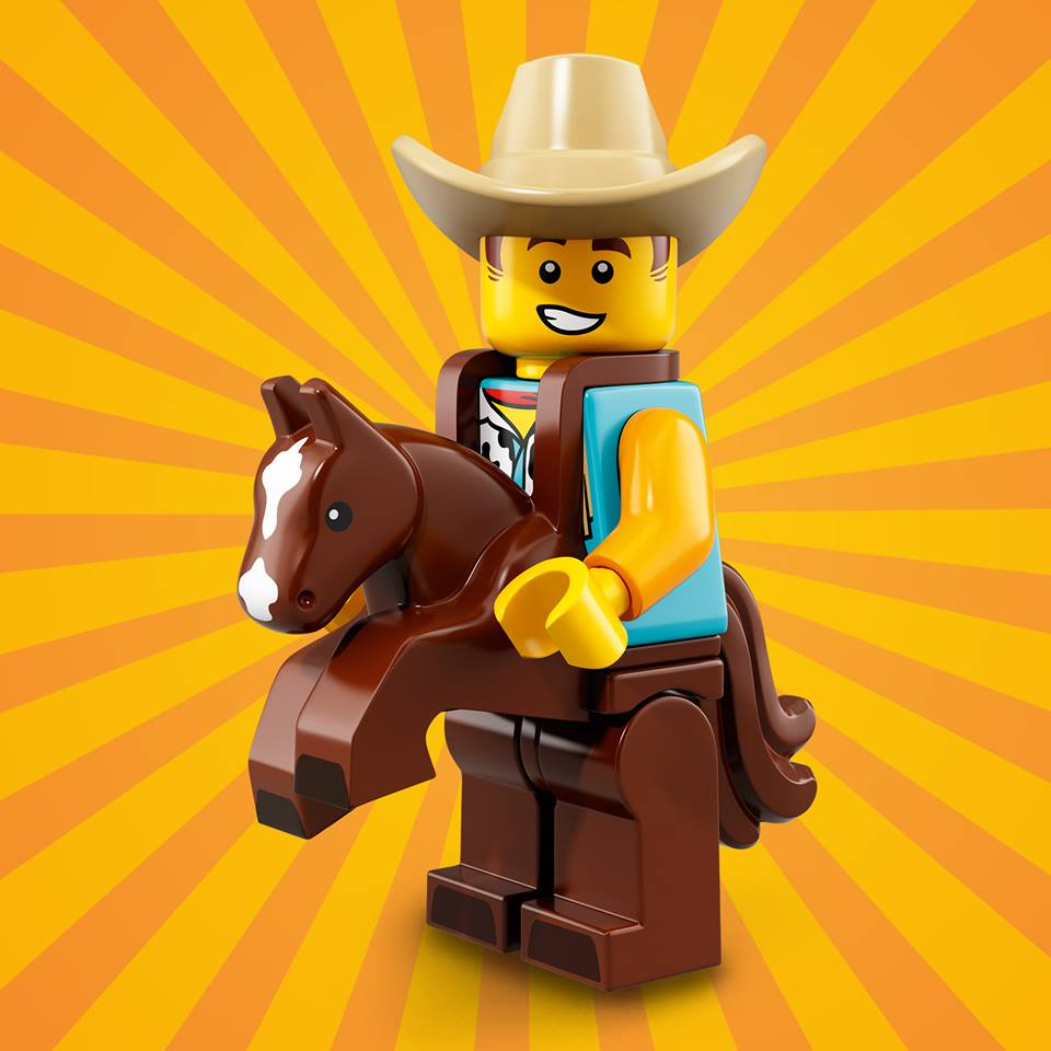 CMF18 Cowboy Suit Guy