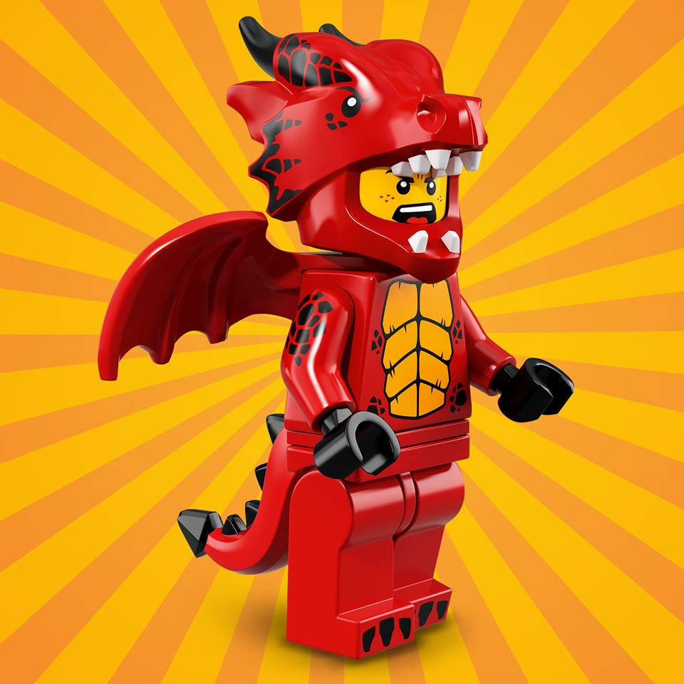 CMF18 Dragon Suit Guy