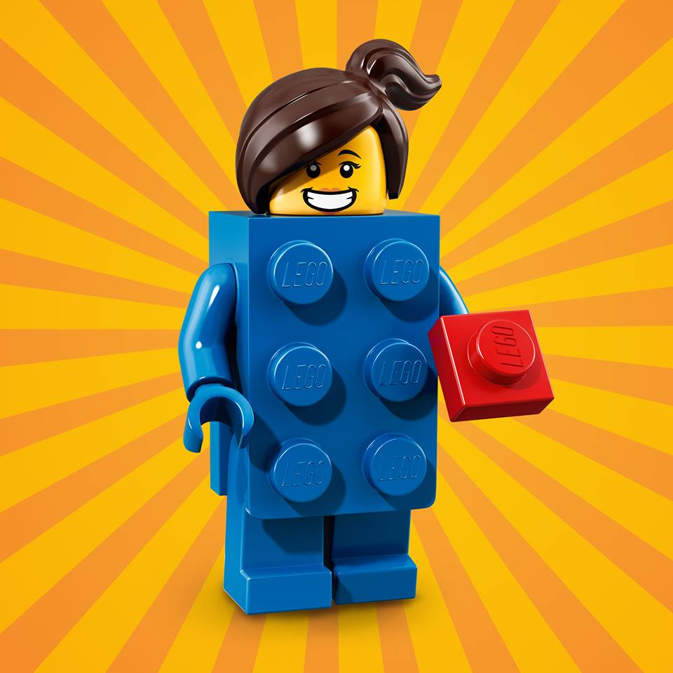 CMF18 Blue Brick Suit Girl