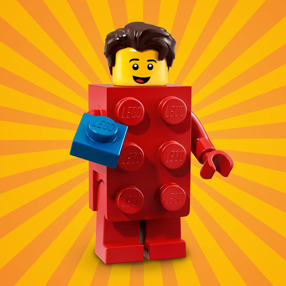 CMF18 Red Brick Suit Guy